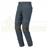 PANTALONE DA LAVORO STRETCH ONE COLOR AVIO/BLUE tg. S M L XL - INDUSTRIAL STARTER