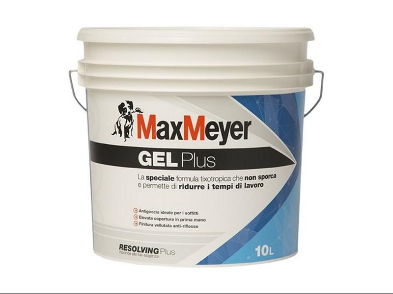Colore Traspirante Per Interni.Max Meyer Gel Plus Pittura Murale Bianco 10 Lt Traspirante Per